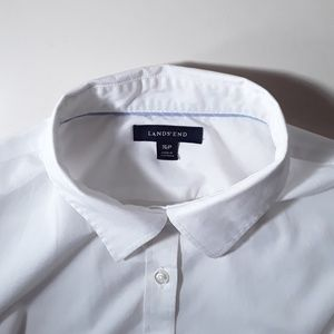 Lands' End Oxford White Shirt